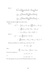 Differential Equations Lecture Work Solutions 332