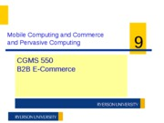 CGMS550 W11 Week 9 - Mobile Computing and E-Commerce Security (1)