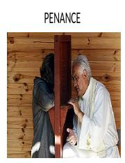 Sacraments of Penance and Holy Orders