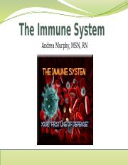 The Immune System_Student Version