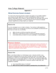 phi 105 ethical decisions scenario analysis Visit wwwhomeworkfilescom for more help contact us : [email protected] week 1: phi105 week 1 assignment philosophical views comparison phi105 week 1 checkpoint – argument and logic.
