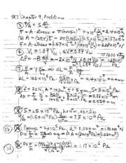 chapter 9 solutions