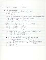 PHY294_2010_problem set 1 with solution