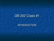 GB202 Chapter01 ppt