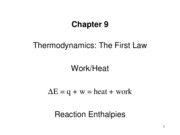 CH9 Zumdahl Thermochem 2008 for Web
