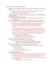Study Guide for Exam 1 Pathophysiology-F2016.docx