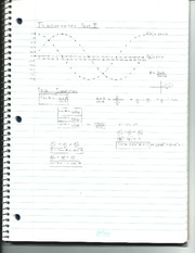 Trignometry and Sequences and Series Notes Part 1