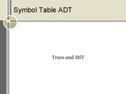 Lecture 15 - Trees and BSTs