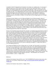 Free speech essay