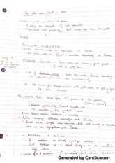 English Notes Lecture 4