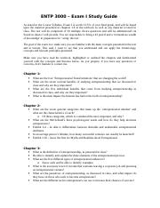 Exam I - Study Guide-4.doc