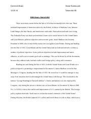 dbq essay   war of docx   dominickmusto socialstudiespd