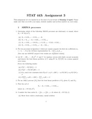 STAT 443 assignment3