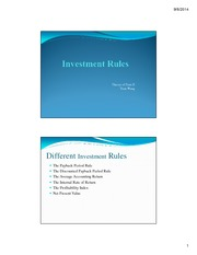 L2 Investment Rules