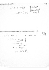 MAT 284 Quiz 6 And 8