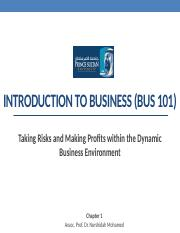 1-Chapter 1-BUS101.pptx
