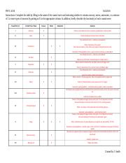 8-17 Cranial Nerves Table Answer Key