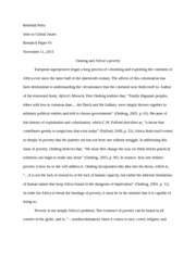 global-ondeng essay