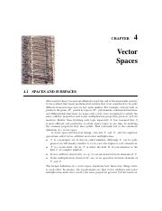 VectorSpaces