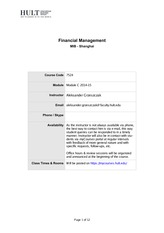 Financial Management - Beijing