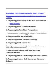 Fall 2017-General Psychology-TEN FACTS to Know About Psychology 8-24-17.docx