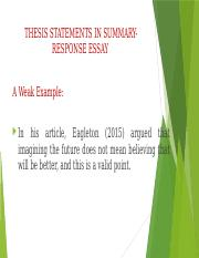 THESIS STATEMENTS IN SUMMRESP.pptx