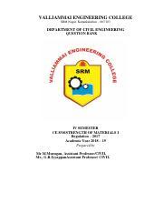 CE8491-Soil Mechanics pdf - VALLIAMMAI ENGINEERING COLLEGE