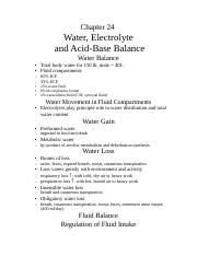 Chapter24_Saladin_Water Electrolyte and Acid-Base Balance
