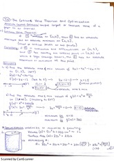 Extreme Value Theorem and Optimization