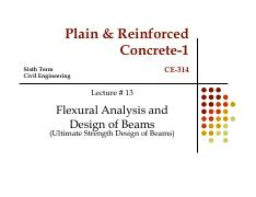prof. zahid ahmad siddiqi lec-13-flexural analysis and design of beamns