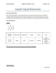Extraction of caffeine Lab Report.docx