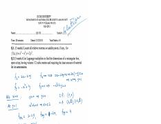 [Fall 2013] Quiz #4 for L02 - Solutions