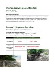 Biomes Ecosystems and Habitats2 lab6.docx