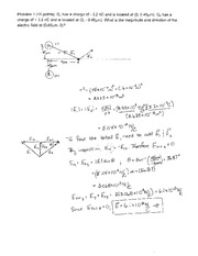 2013 Exam 2 Solutions