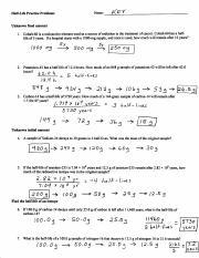 Half Life Practice Problems Key Pdf