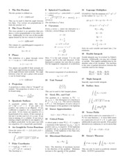 133756188-Multivariable-Calculus-Review-Sheet