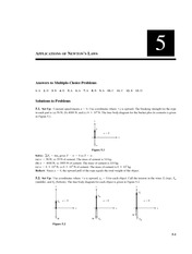 Chapter 5 Homework Solution on Physics II without Calculus II