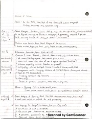 Lecture Notes-Islam I