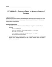unit 6 research paper 1 nas
