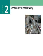 Section+15+Fiscal+Policy+Fall+2014