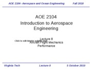 Lecture 8-Aircraft Performance 2