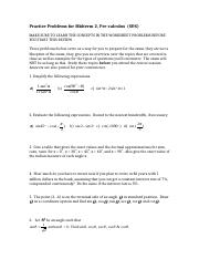 Chapter 4.3-6.2 Midterm2 Practice Problems (S&S)