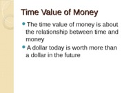 Introduction to Time Value of Money (3)