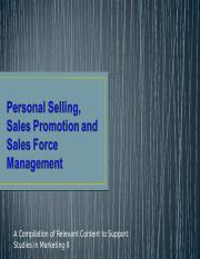 Sales Force Management.ppt