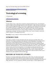 313_20D_Toxicology Screening