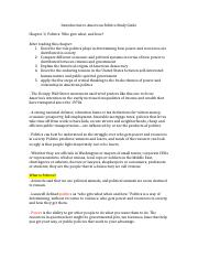 Introduction to American Politics Study Guide.docx