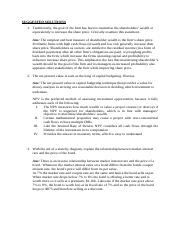 Finance Theory- Suggested Solution [edited].doc