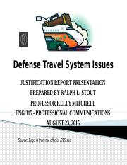 Defense Travel System Issues.pptx