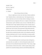 ENC 1101 paper 2 final draft