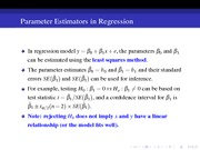 23 Regression - Prarameter Estimator